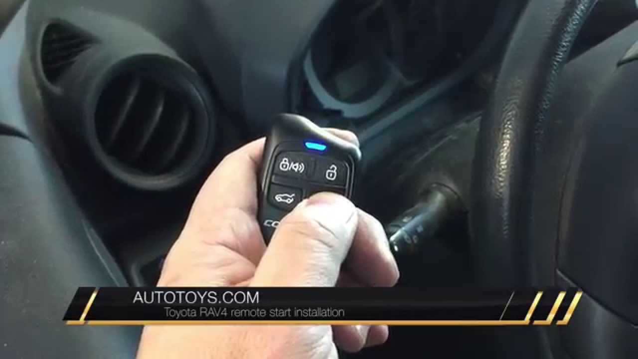 TOYOTA RAV4 REMOTE START BY AUTOTOYS IDATALINK