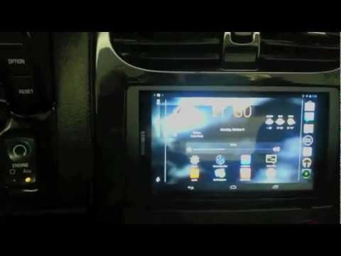Android Tablet Corvette Stereo Carputer Install (Part 1 of 2).mov