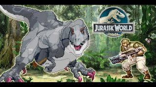 Indominus Rex - Jurassic World M.U.G.E.N game (2015 WIP)