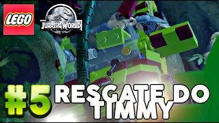 Lego Jurassic World - Resgate do Timmy! : Parte #5