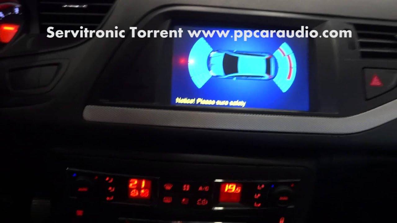 sensores de estacionamiento funcionando en gps multimedia. Black Bedroom Furniture Sets. Home Design Ideas