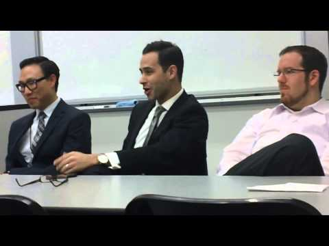 Careers in Tax Law Panel