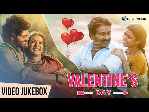 Valentine's Day Special | Best Romantic Tamil Video Songs | Jukebox |  TrendMusic