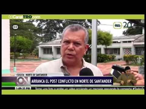 Empieza el post- conflicto en Norte de Santander