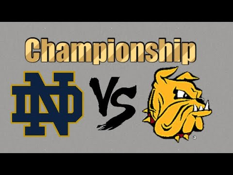 Notre Dame #1 vs Minnesota Duluth #4 Highlights | 2018 NCAA Men's Hockey Championship|