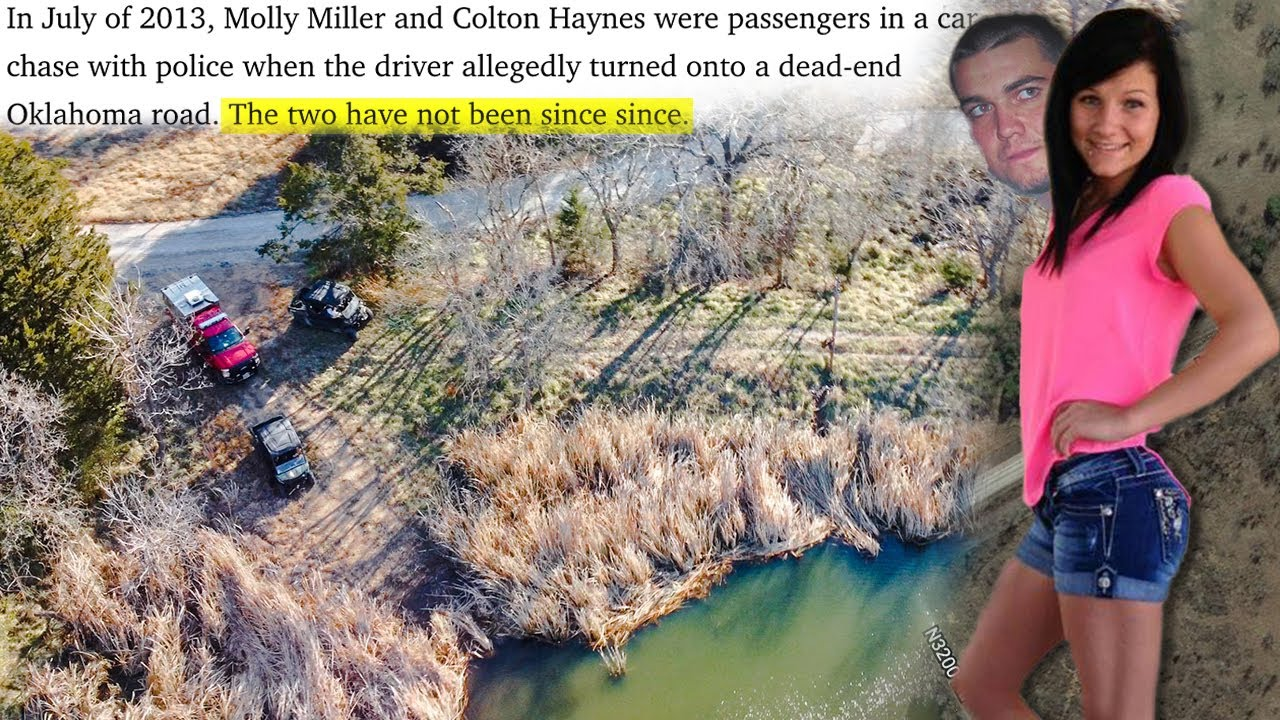 UNSOLVED: Molly Miller and Colt Haynes Missing 8-Years After High-Speed Police Chase.  (Cold Case)