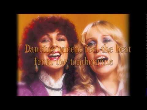 ABBA  Dancing Queen HD Lyrics on screen