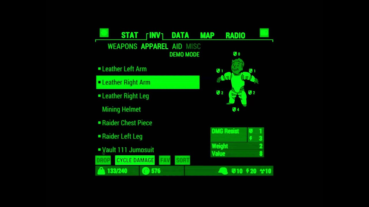 Group of Fallout 4 Pipboy Screen
