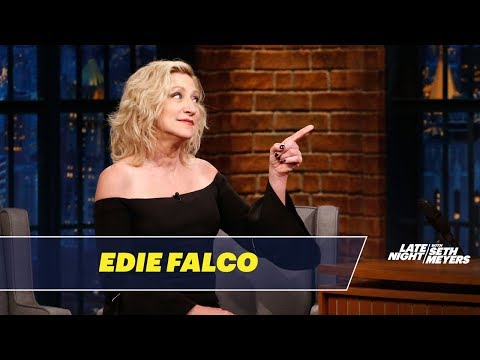Edie Falco Consulted a Dog Psychic