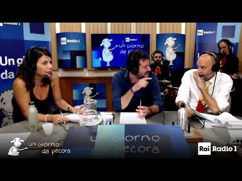 MATTEO SALVINI A UN GIORNO DA PECORA (RAI RADIO 1, 25.10.3019)