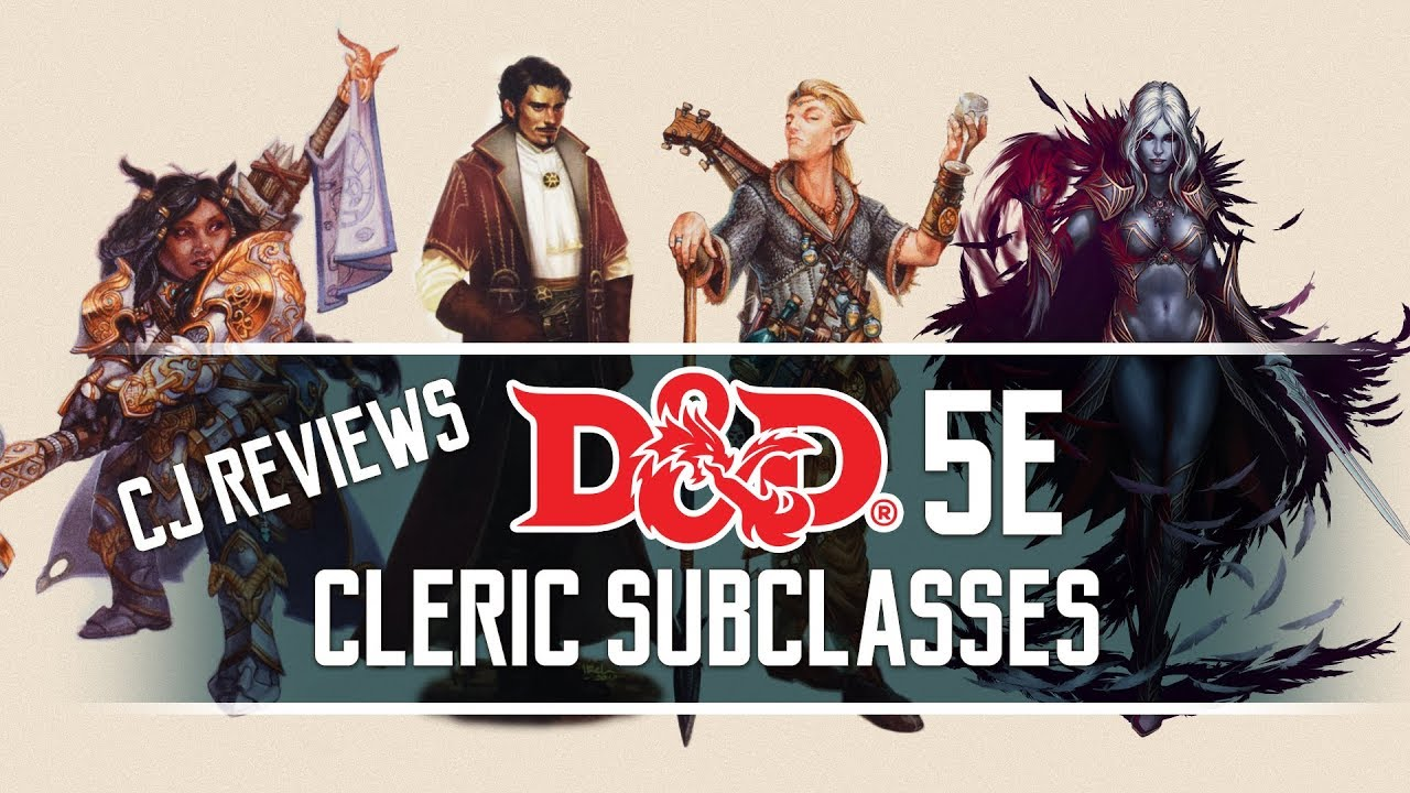 Arcana, Forge, Grave & Death Domain Dungeons and Dragons 5e Cleric Subclass  Review