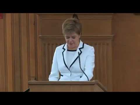Nicola Sturgeon at Stanford University  Scotland's Place in the World