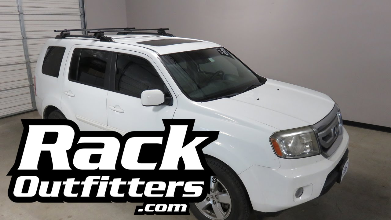 2013 2015 honda pilot with yakima timberline corebar roof. Black Bedroom Furniture Sets. Home Design Ideas