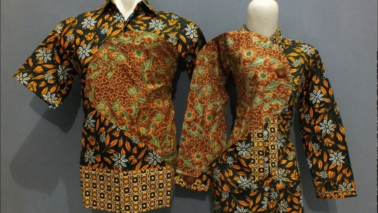 model seragam batik kerja modern - YouTube e57f73d531