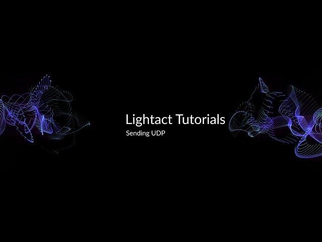 Sending UDP | Lightact