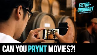 Making wine and Prynt-ing movies | Extraordinary Tech