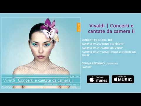 THE VIVALDI EDITION | 16 - Concerti e cantate da camera II