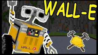 РОБОТ ВАЛЛИ и ПИЛА В МАЙНКРАФТ !!! - БИТВА СТРОИТЕЛЕЙ #113 - Minecraft