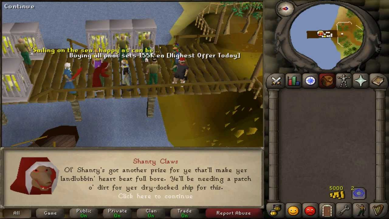 RuneScape Old School Christmas Event! [OSRS] (2006 Xmas Event) - YouTube