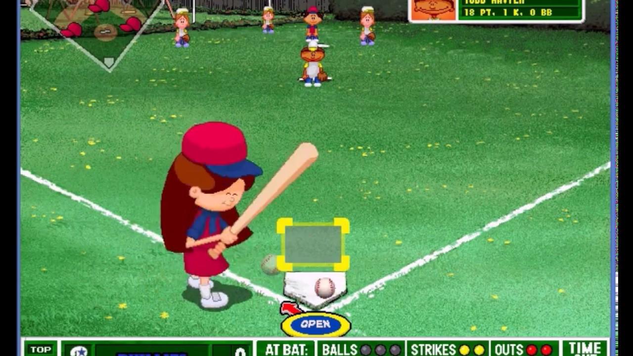 Backyard Baseball 2001 Season - Bats come alive - ep3 ...