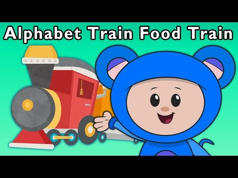 T Is for Train | Alphabet Train Food Train and More | Baby S