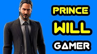 NEW JOHN WICK SKIN SOLO FORTNITE FAMILY FRIENDLY GAMEPLAY LIVE STREAM
