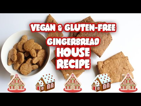 [RECIPE] VEGAN & GLUTEN-FREE GINGERBREAD HOUSE AND ICING ❤