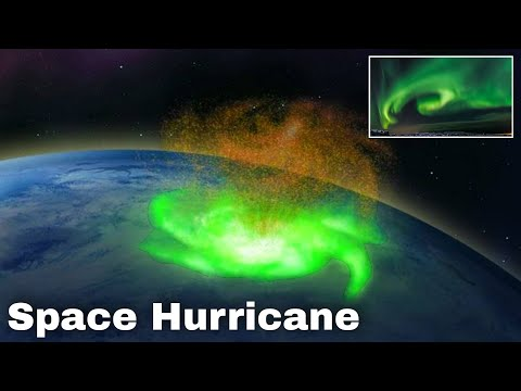 First Space Hurricane Discovered : Science Loop