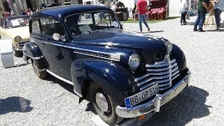1950 Opel Olympia - Retro Classics meets Barock Ludwigsburg 2017