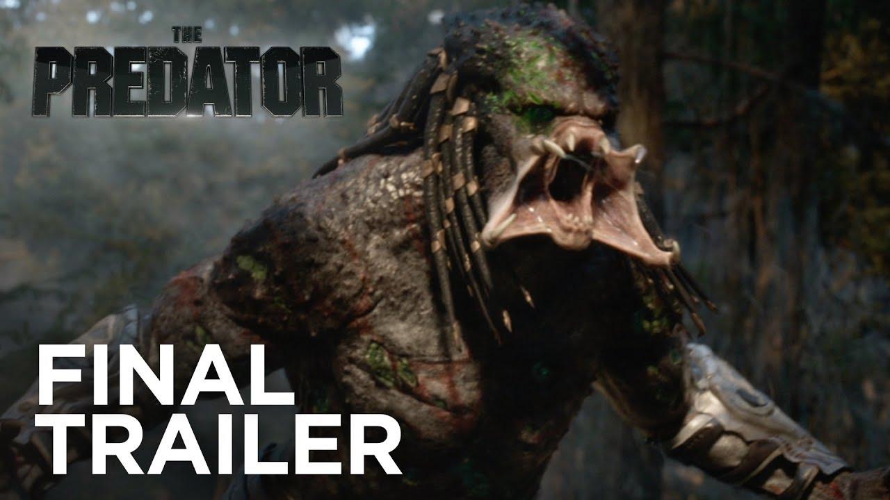 The Predator Final Trailer Redband Hd 20th Century Fox 2018 Youtube