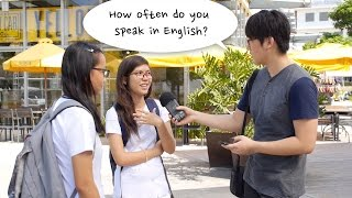 How often do you Filipinos speak in English? thumbnail