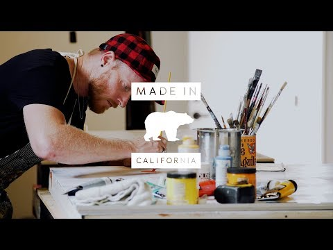 Made in California: Artist Mike Weber Finds Balance in Nature