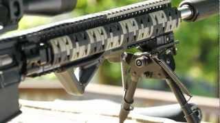 300 blackout bullet caught in flight