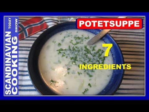 How To Make Easy Norwegian Potato Soup  🥄 Potetsuppe