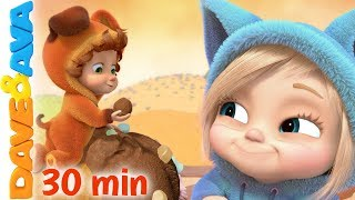 🍨 Nursery Rhymes and Kids Songs | Baby Songs by Dave and Ava 😍