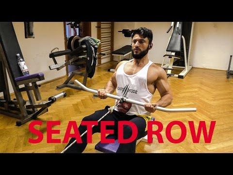 Sırt Antrenmanı - Seated Row Nasıl Yapılır ?
