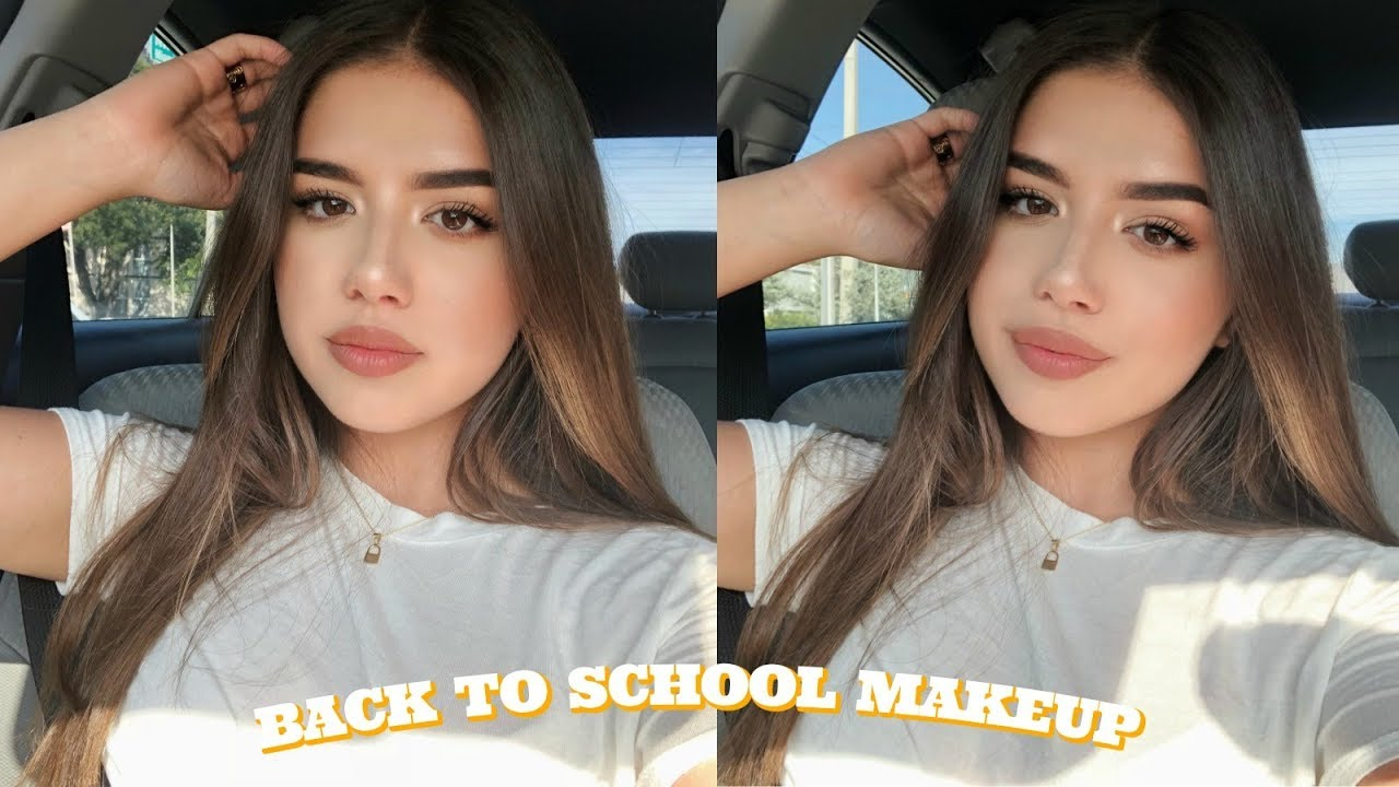 Drugstore Back To School Makeup Tutorial Quick Easy Youtube
