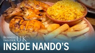 Inside the top-rated Nando's in London