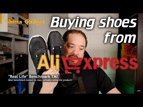 China Gadget: Buying Shoes From Aliexpress?!