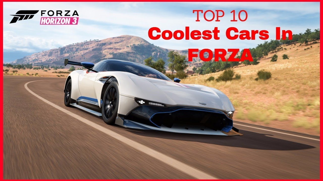 Cool Cars In Forza Horizon 3