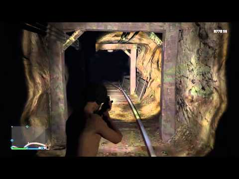 GTA5 New Secret Location! Secret Mine Tunnel! GTA5 Xbox1 And Ps4