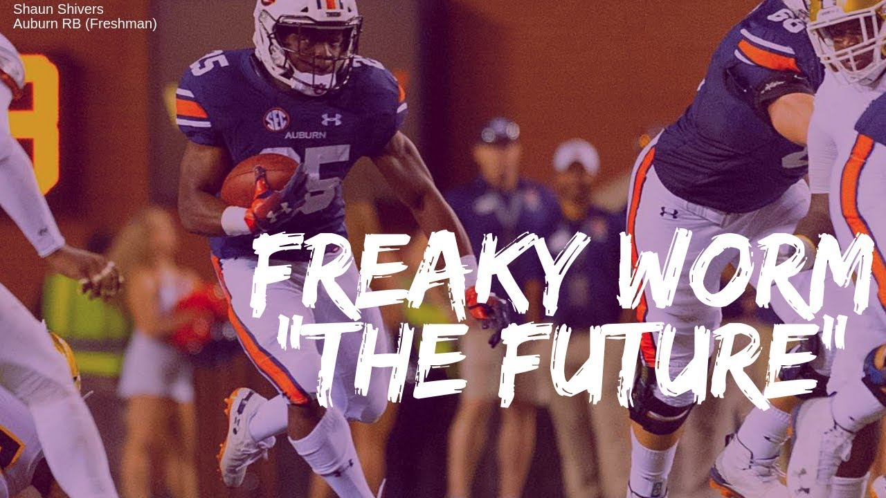 The BreakDown : Shaun Shivers RB Auburn (Freshman) - YouTube
