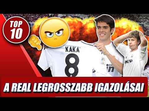 A Real Madrid 10 LEGROSSZABB igazolása!