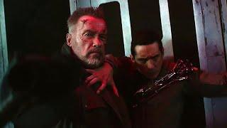 T-800 vs Rev-9 (Fight in Airplane) | Terminator: Dark Fate [UltraHD, HDR]
