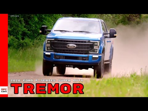 2020 Ford F-Series Super Duty Tremor Off Road Package Truck
