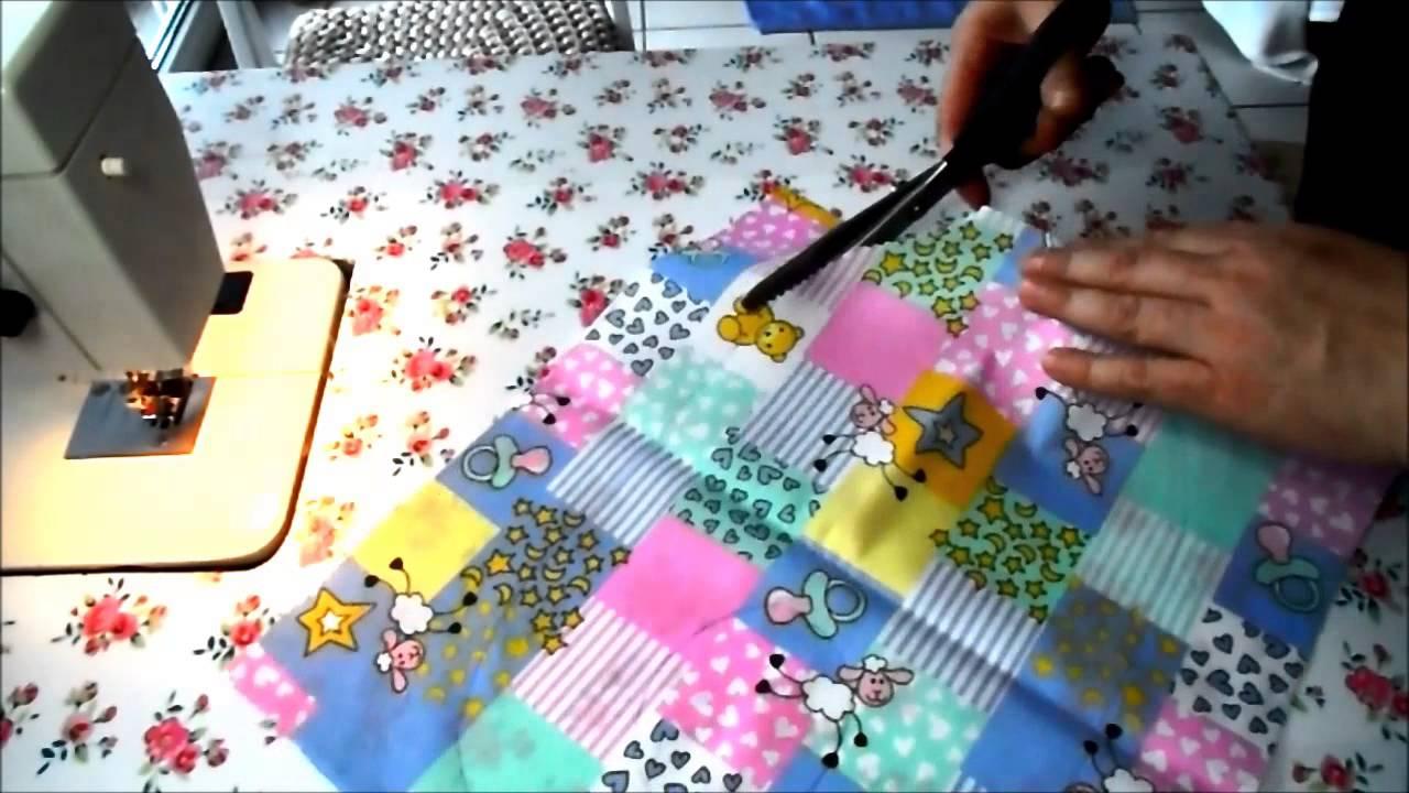 süsse Babylätzchen aus alten Handtüchern - YouTube