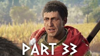 Assassin's Creed Odyssey Gameplay Walkthrough Part 33 - BATTLING FOR SPARTA
