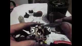 Ваз 2110-12 ремонт электродвигателя отопителя ( нестандартные щетки)(, 2015-01-08T07:17:45.000Z)