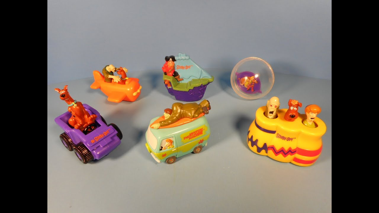 Dairy Queen Toys : Scooby doo where are you set of dairy queen kid s