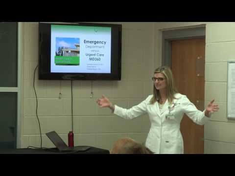 Emergency Room or Urgent Care? GHS Lunch & Learn